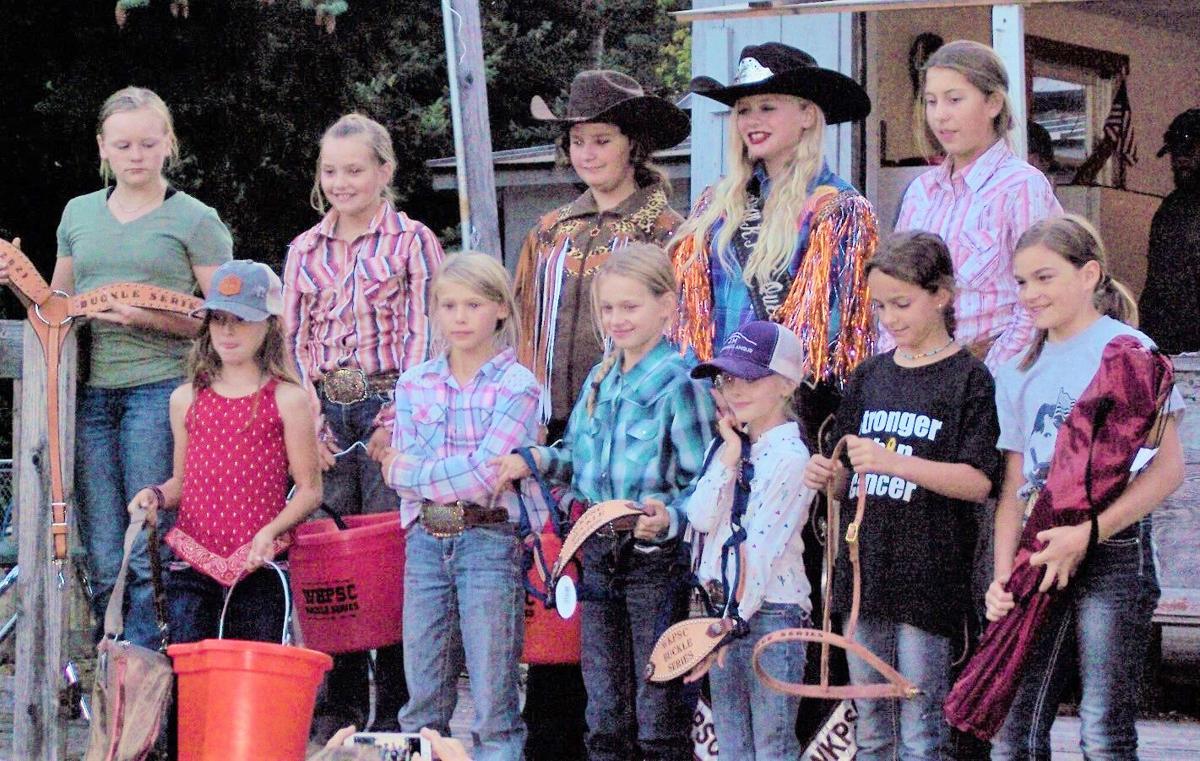Winners in the 2021 West Klickitat Posse Saddle Club Buckle series