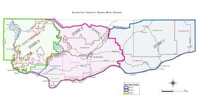 County burn ban zone map