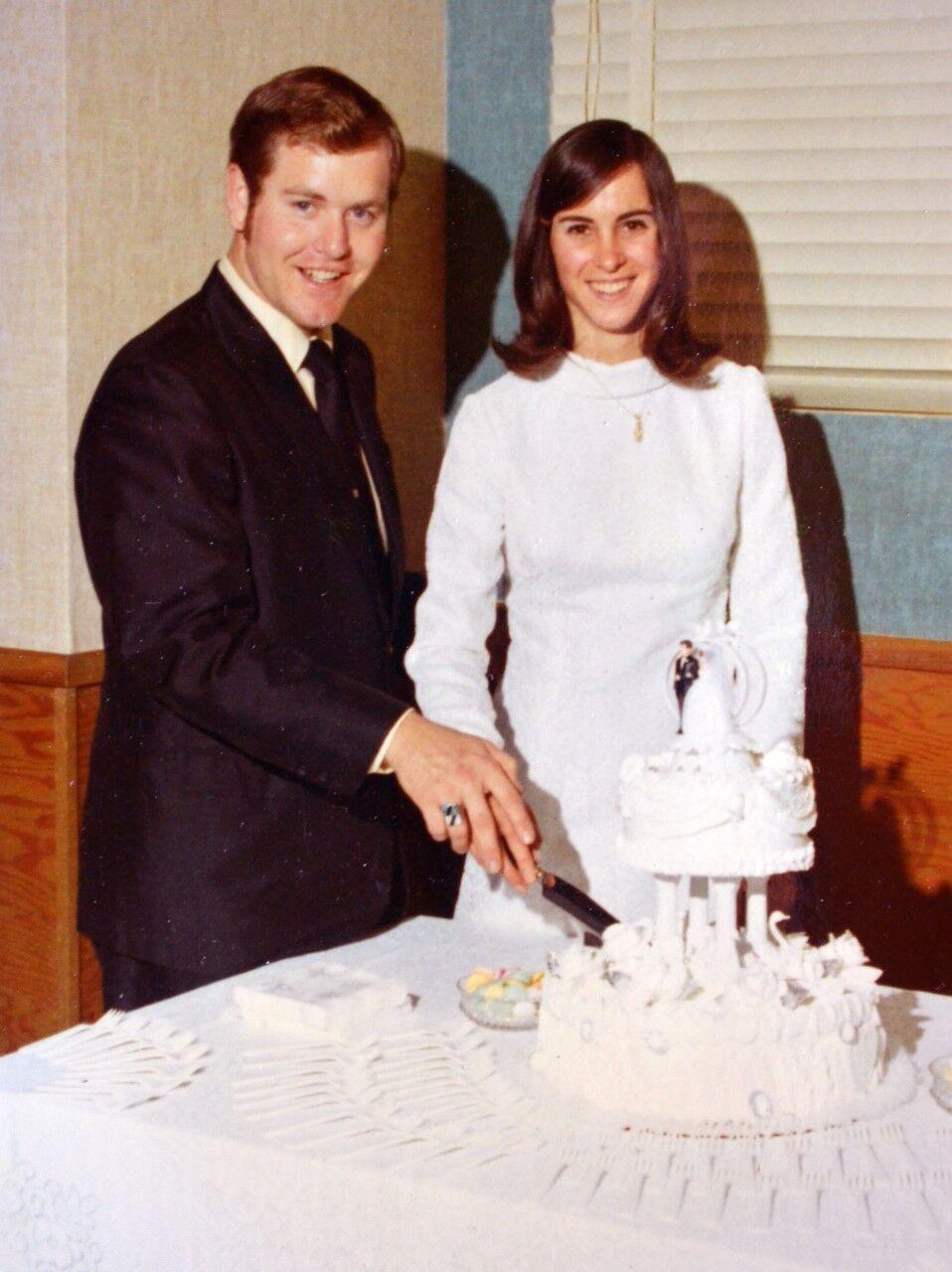 Eric and Shari Bosler 1970