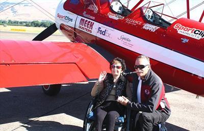 Veterans take flight at Gorge airport