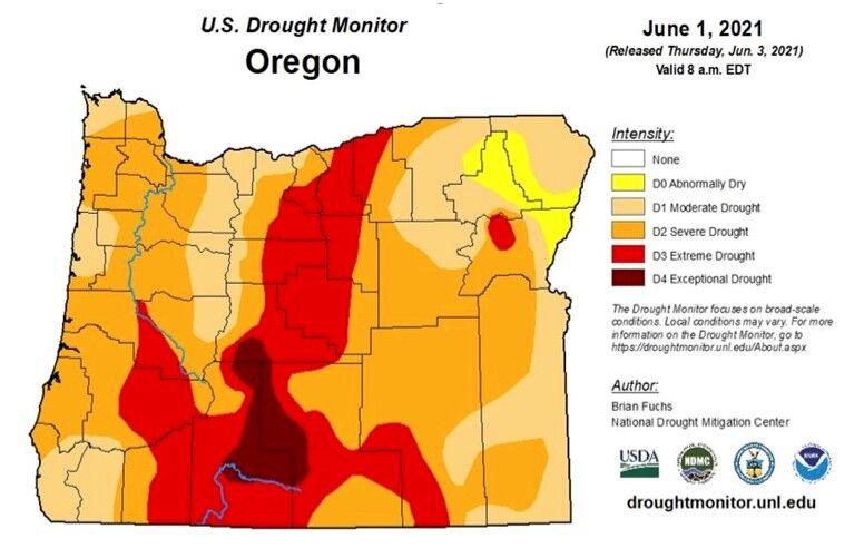 Drought Oregon