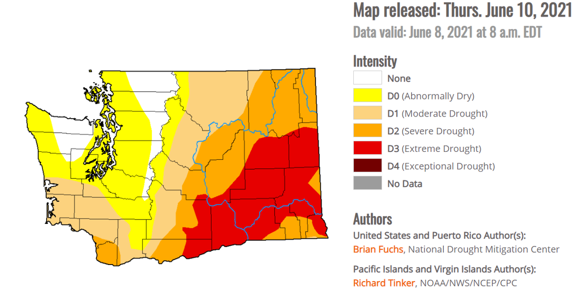 Drought Washington