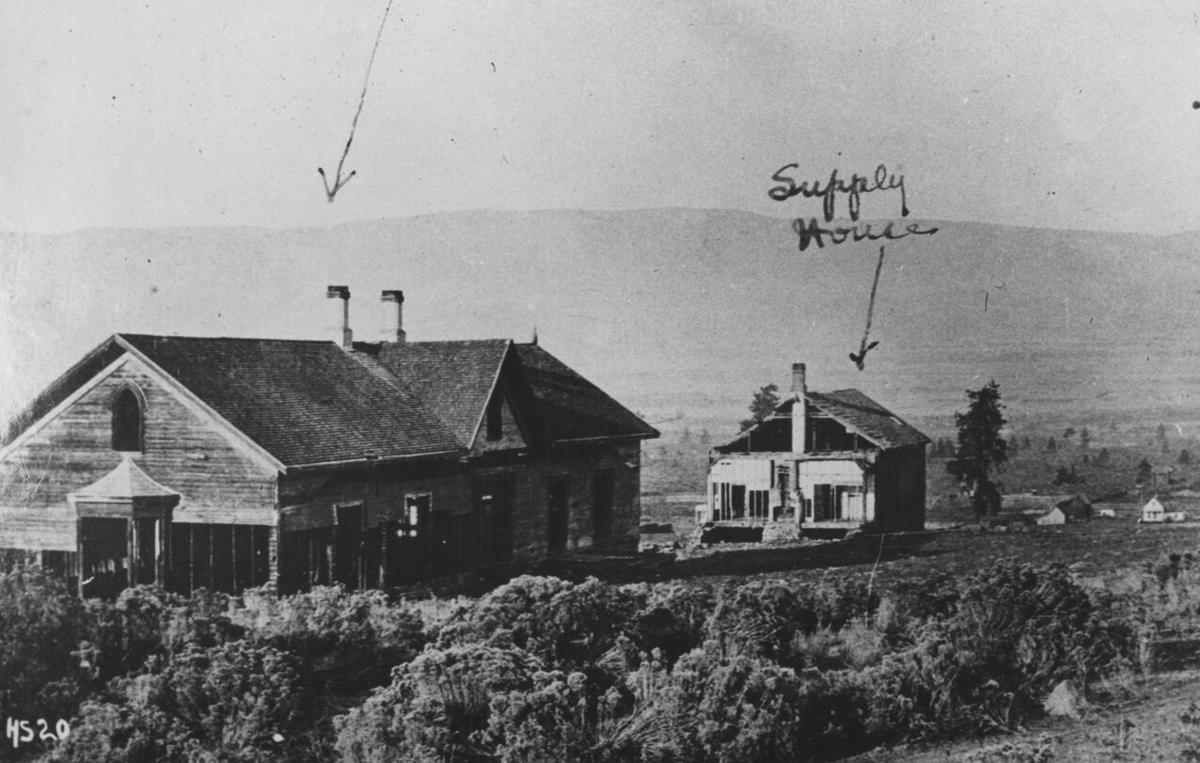 04-28 HISTORY Fort Dalles ruins c 1890.tif