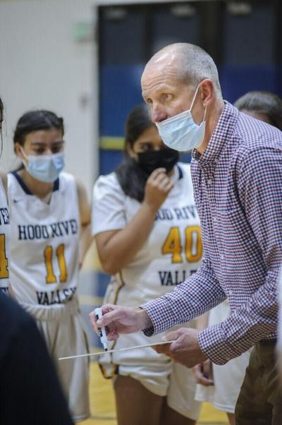 Hood River Valley Head Coach Steve Noteboom