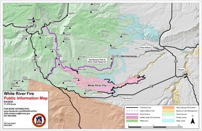 White River Fire update, Sept. 4