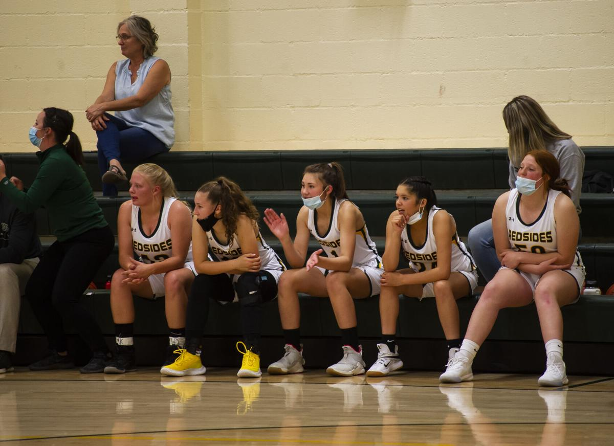 South Wasco girls basketball
