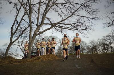 Cross country meet at Sorosis Park