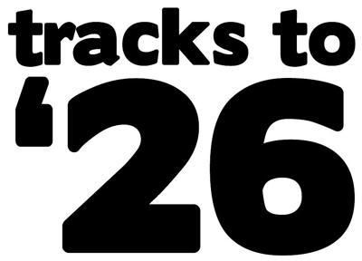Tracks to 26 logo