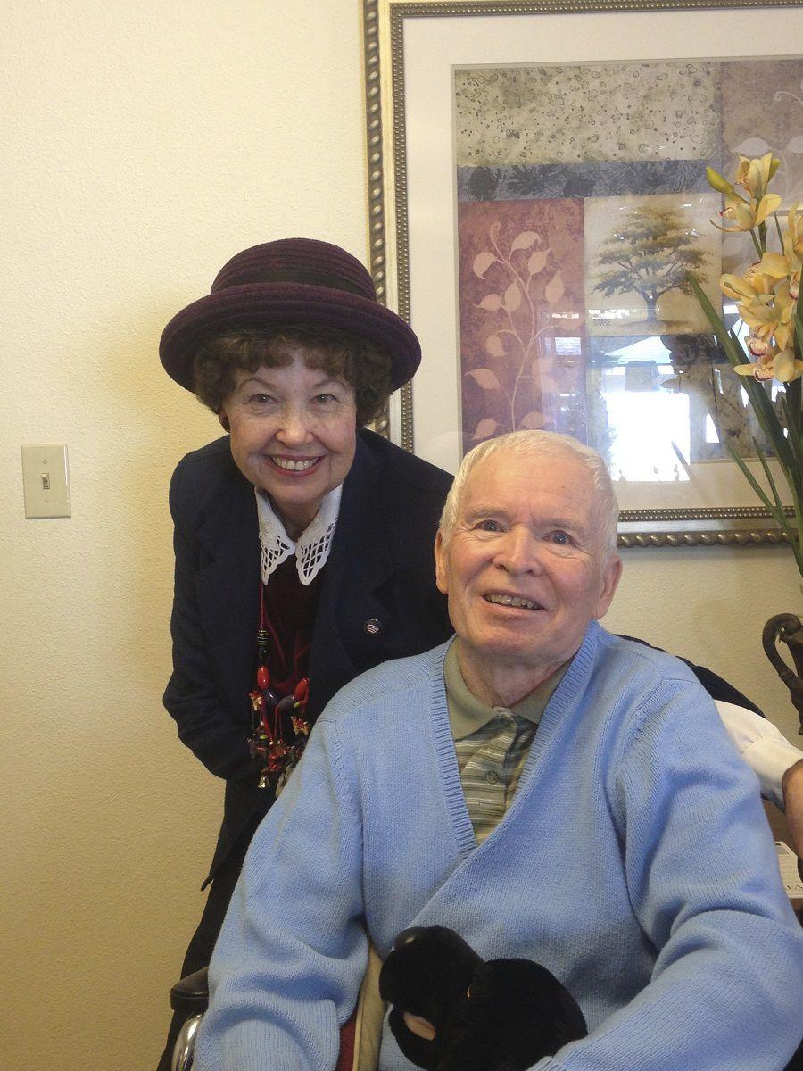Olsons celebrate 60th anniversary