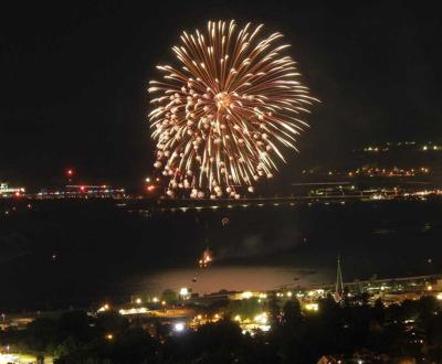 The Dalles fireworks