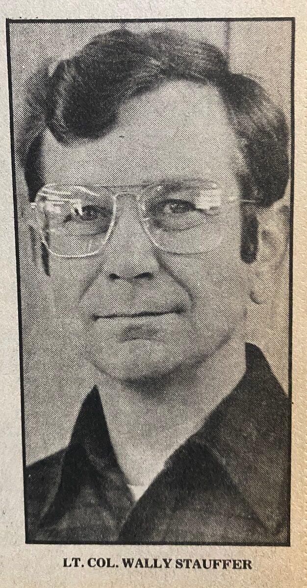 Lt. Col. Wally Stauffer March 17 YY