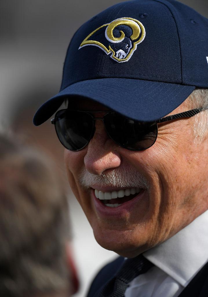 Los Angeles Rams owner Stan Kroenke is seen prior to an NFL football game