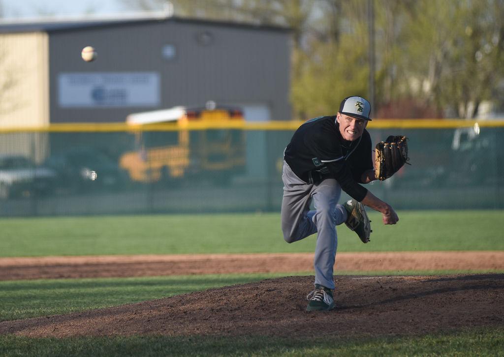 Rock Bridge baseball scores on dropped third strike to walk
