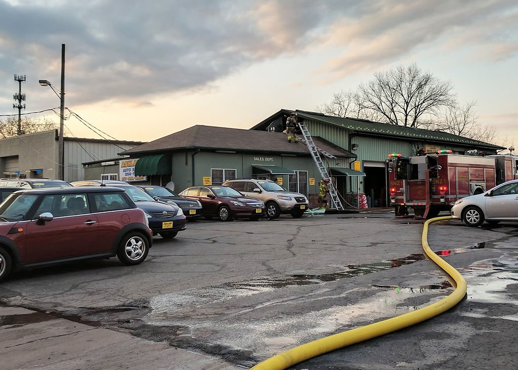 update fire damages ashland auto sales local