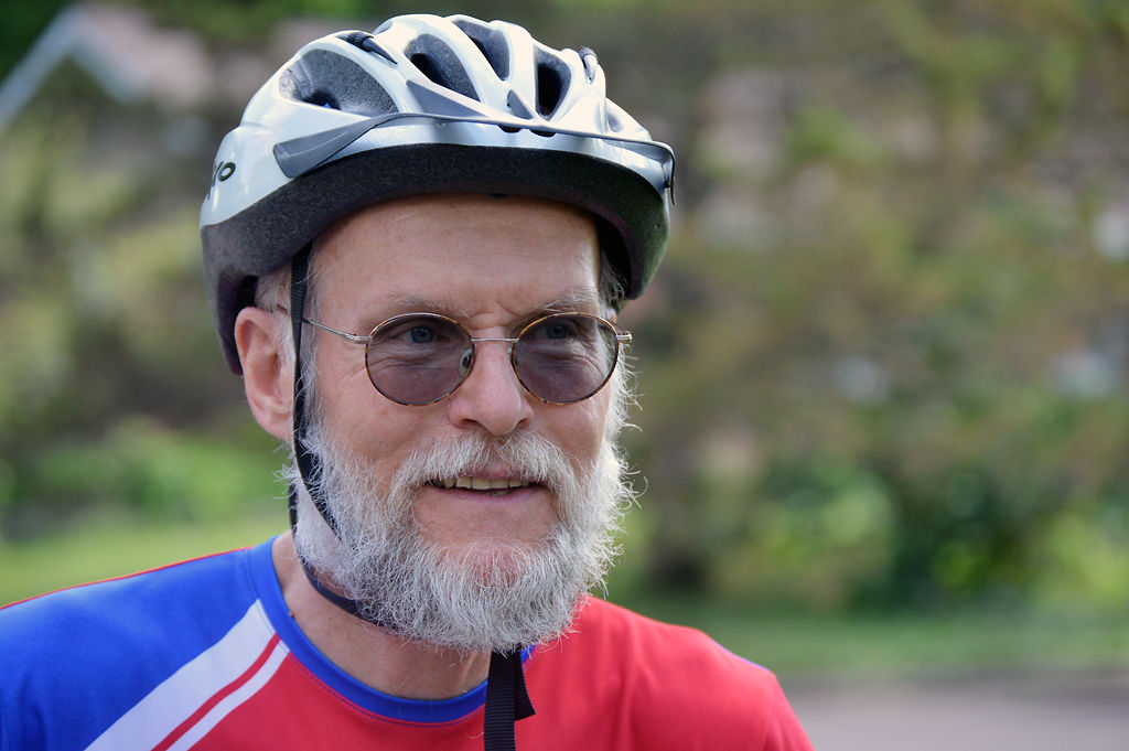Don Harter will ride a bike across America