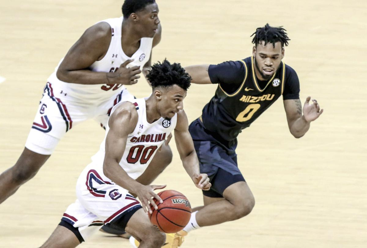 Missouri South Carolina Basketball