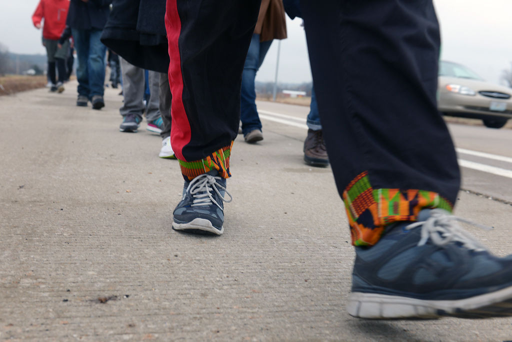 Journey for Justice march pushes toward Jefferson City after resistance