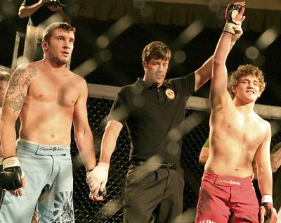Ben Askren wins in MMA debut