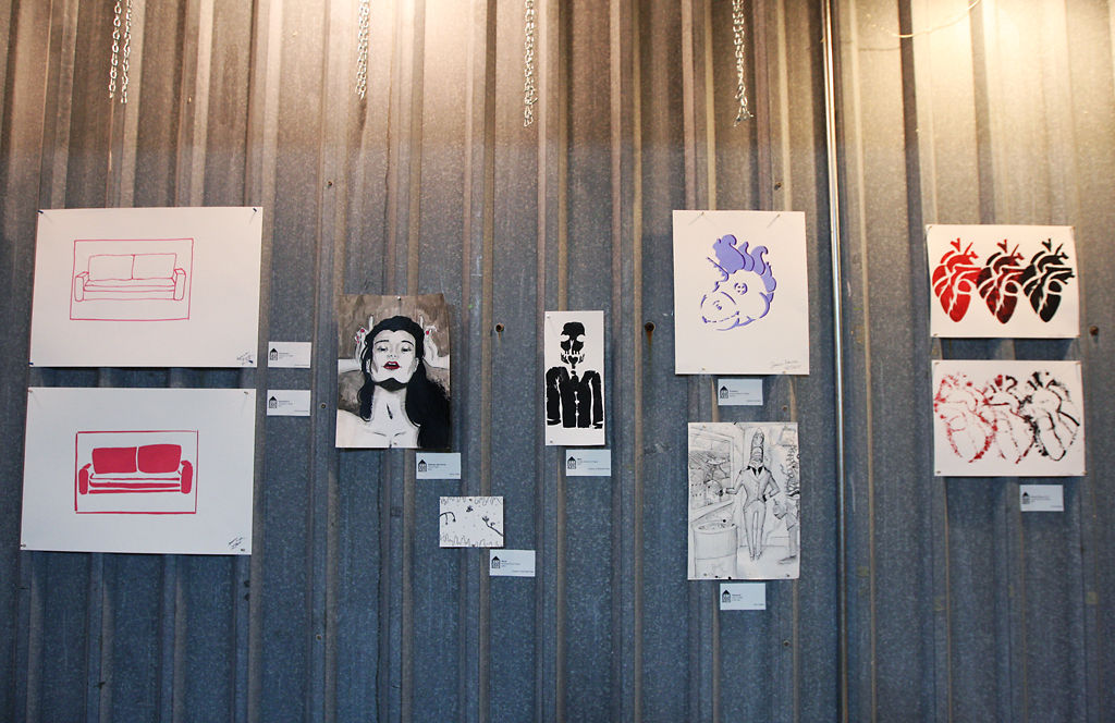 Resident Arts held a final reception