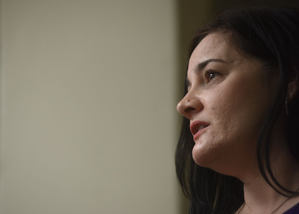 Tina Bloom helped develop a smartphone app to help survivors in abusive relationships