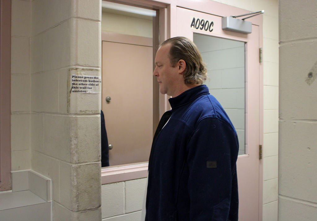 Seth Reynolds checks in at Boone County Jail