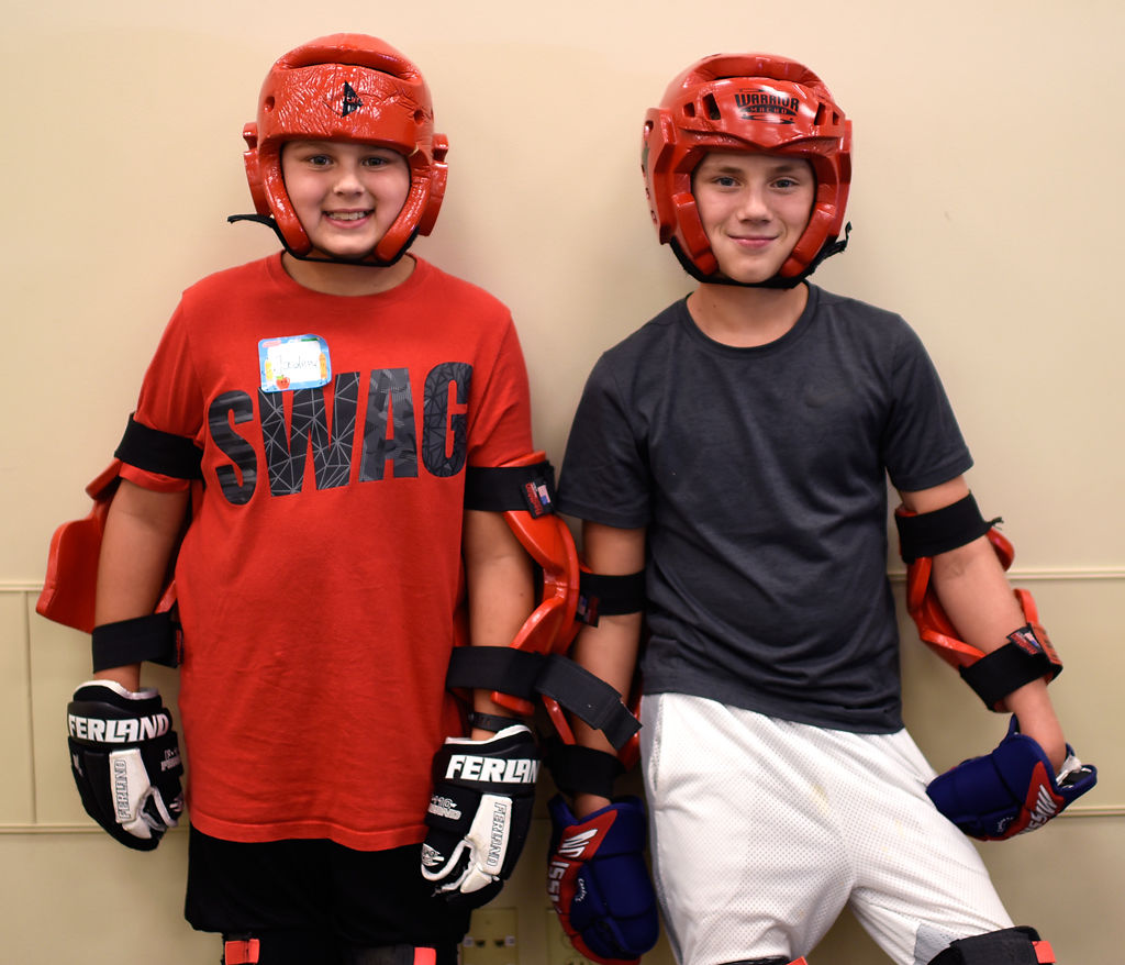 PHOTO GALLERY: Kids Learn Self-defense From Boone County