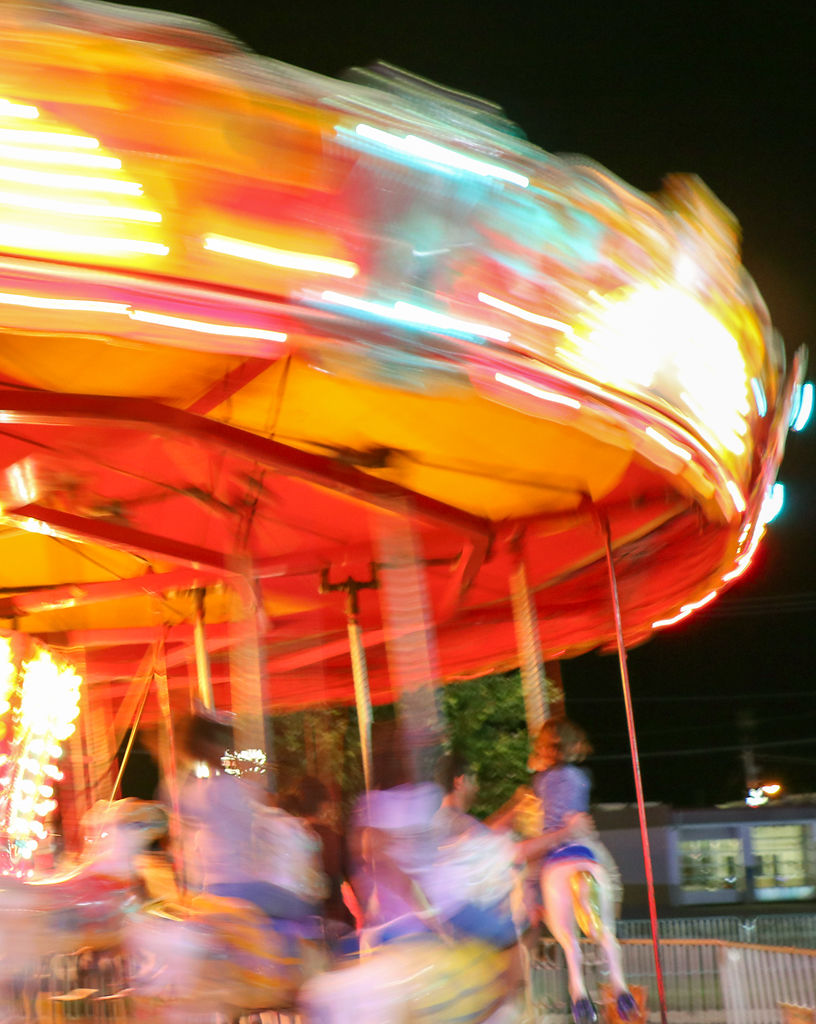 The merry-go-round is one of many rides featured (copy)