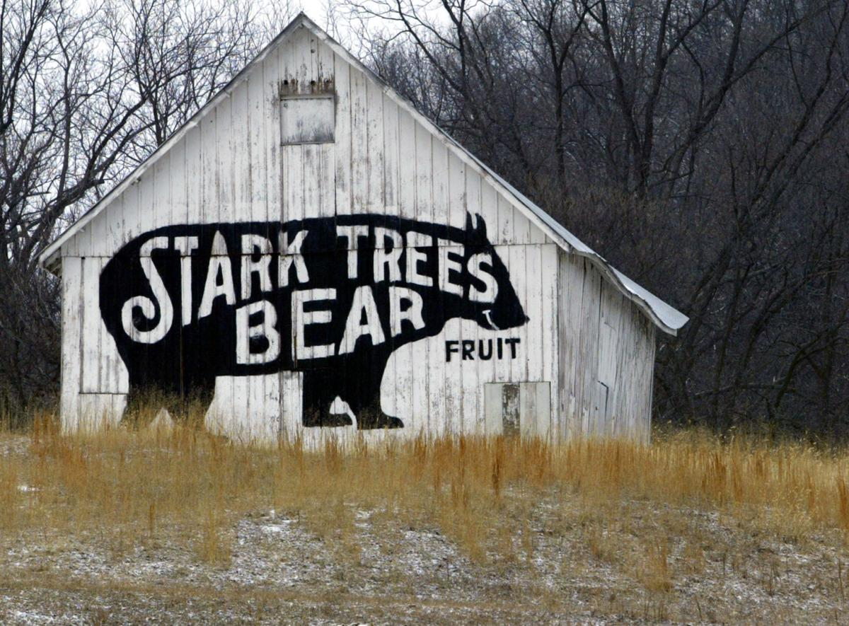 An Old Barn Sports The Logo Of Starks Brothers Nursery