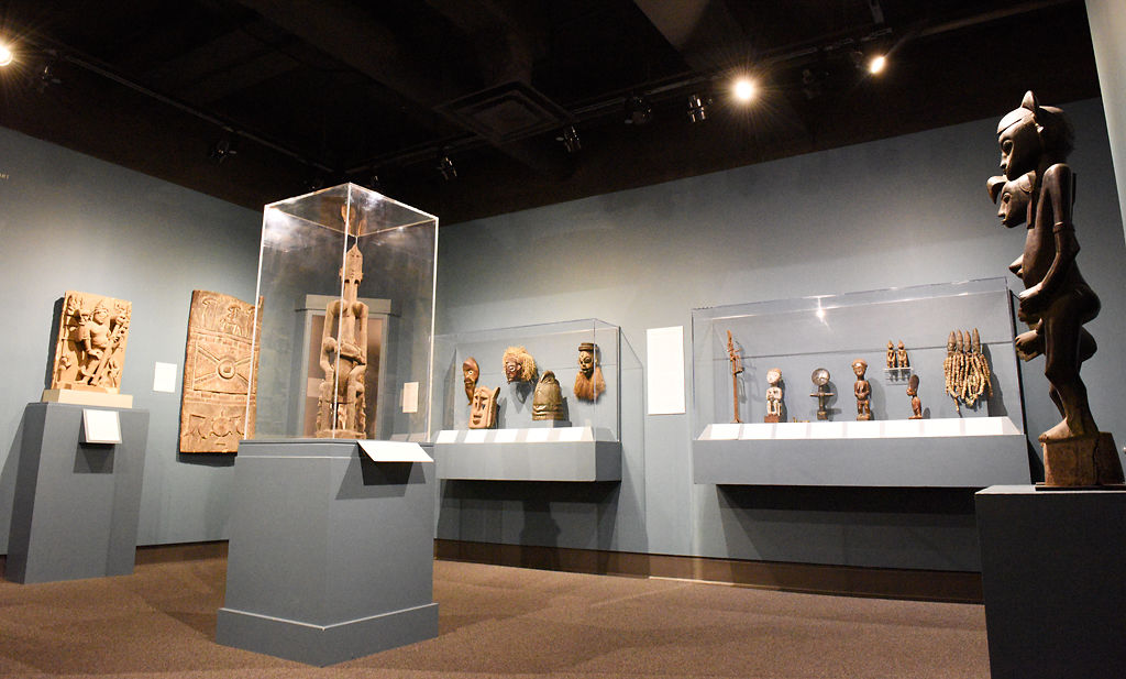 The African gallery at the MU Museum of Art and Archaeology