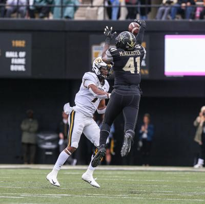 Missouri quarterback Kelly Bryant has a pass attempt swatted down