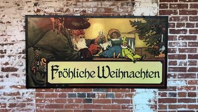 "Weihnachtsmarkt translates as ""Christmas market"" in English"