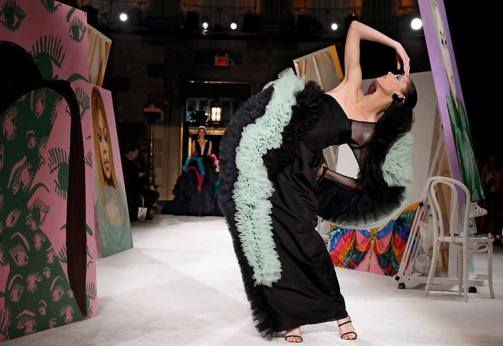The Christian Siriano collection is modeled