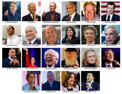 Democratic Presidential Nominees
