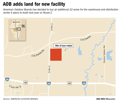 Plans for American Outdoor Brands distribution center get a bit ... 4e4992fcd