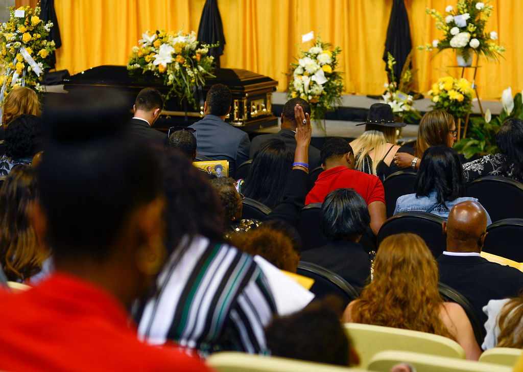 Loved ones held a visitation and funeral for Willie Cox