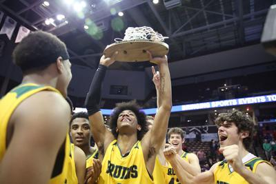 Their shining moment: A year later, Rock Bridge remembers its state basketball championship
