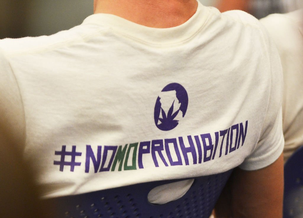 Man who spent two decades in prison on pot charges speaks for T shirt printing columbia mo