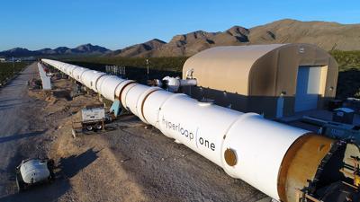 Hyperloop One prototype project in Nevada