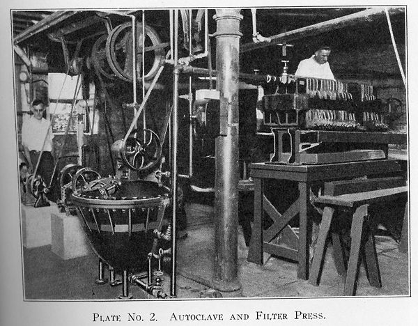 Equipment used for extracting and refining radium from carnotite ores once stood in Pickard Hall