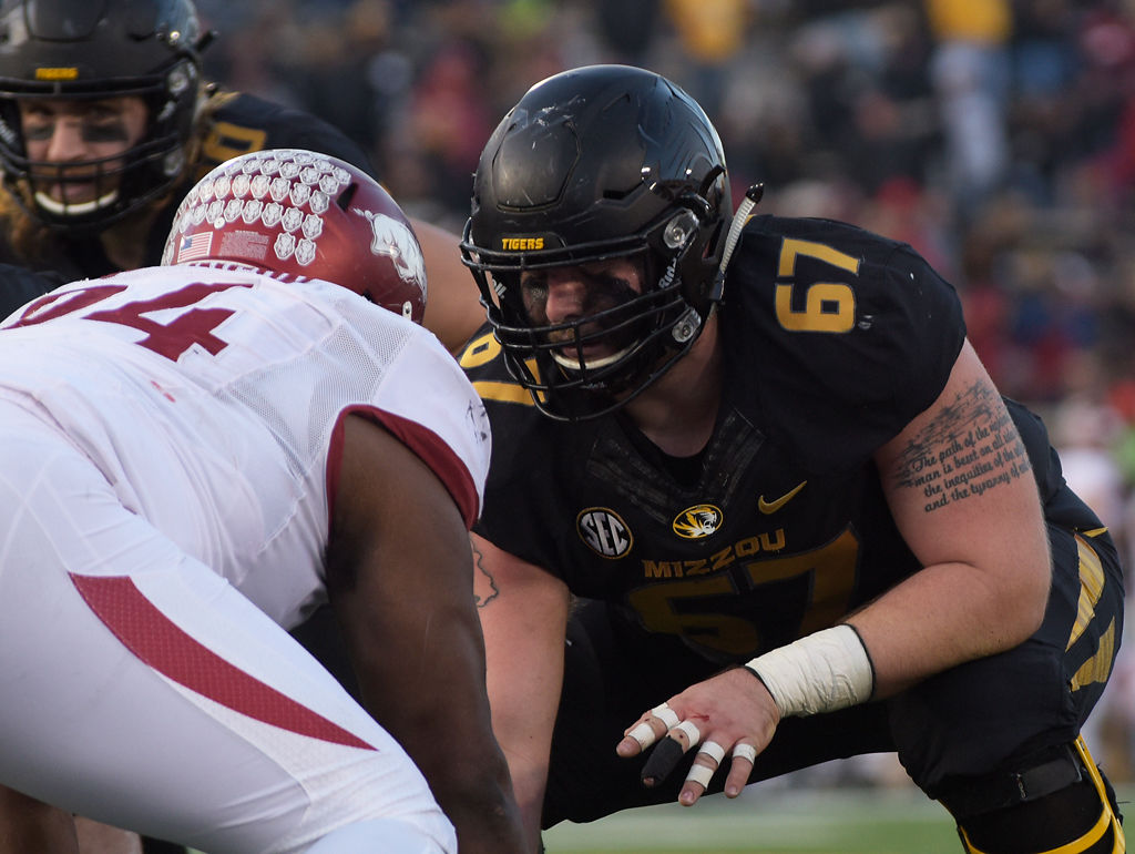 The big boys up front: How Missouri's offensive line is coming together |  Mizzou Football | columbiamissourian.com