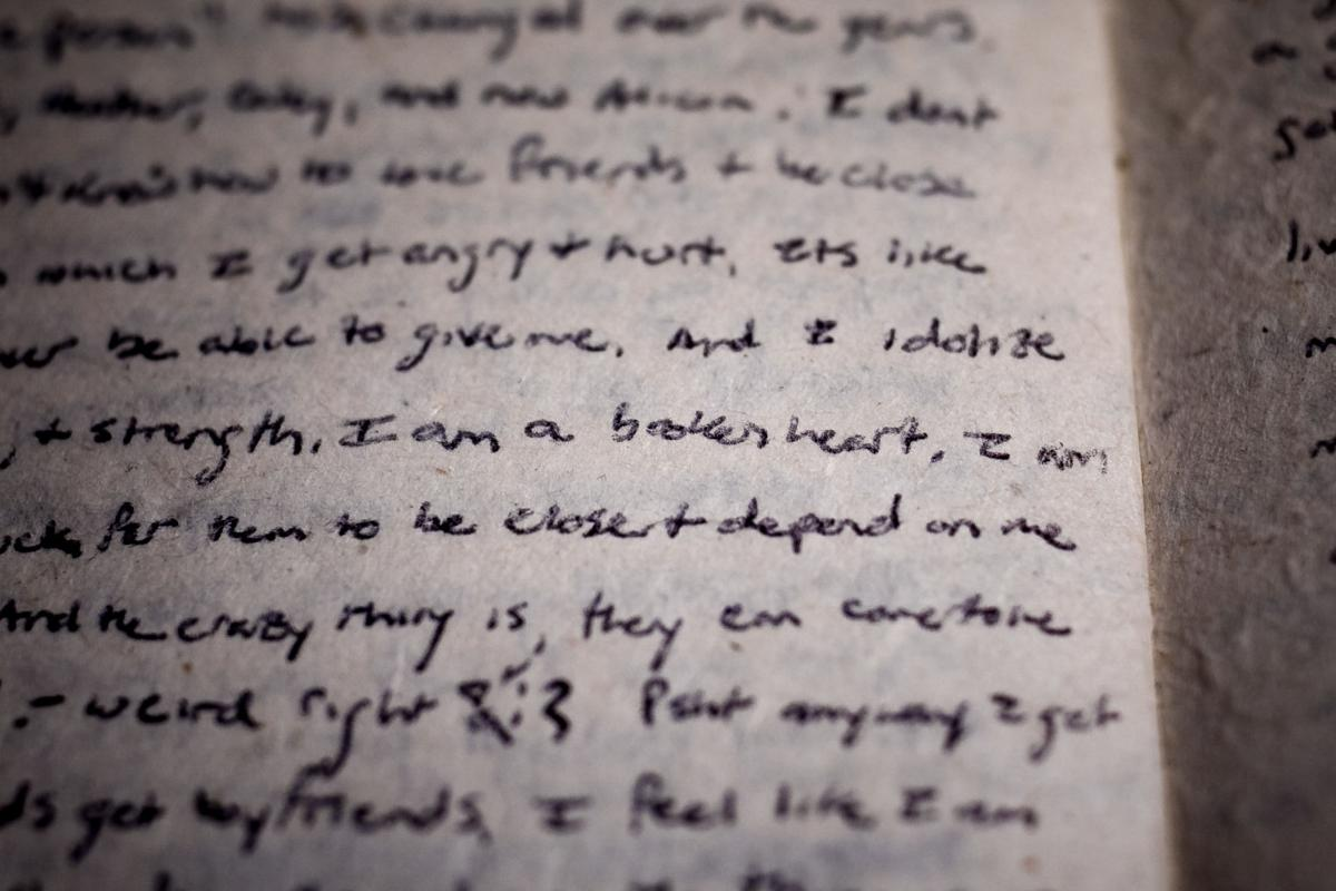 In her college diary, Amanda Loucks wrote, 'I am a broken heart'