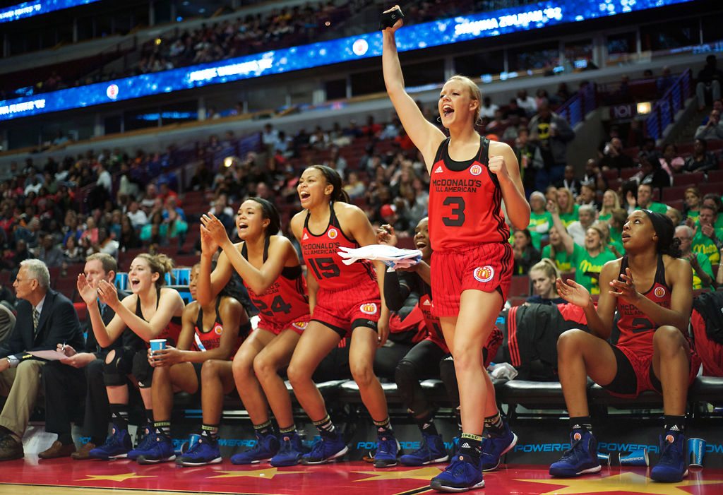 SOPHIE IN THE SPOTLIGHT: In final night on McDonald's All-American stage, Cunningham embraces every moment