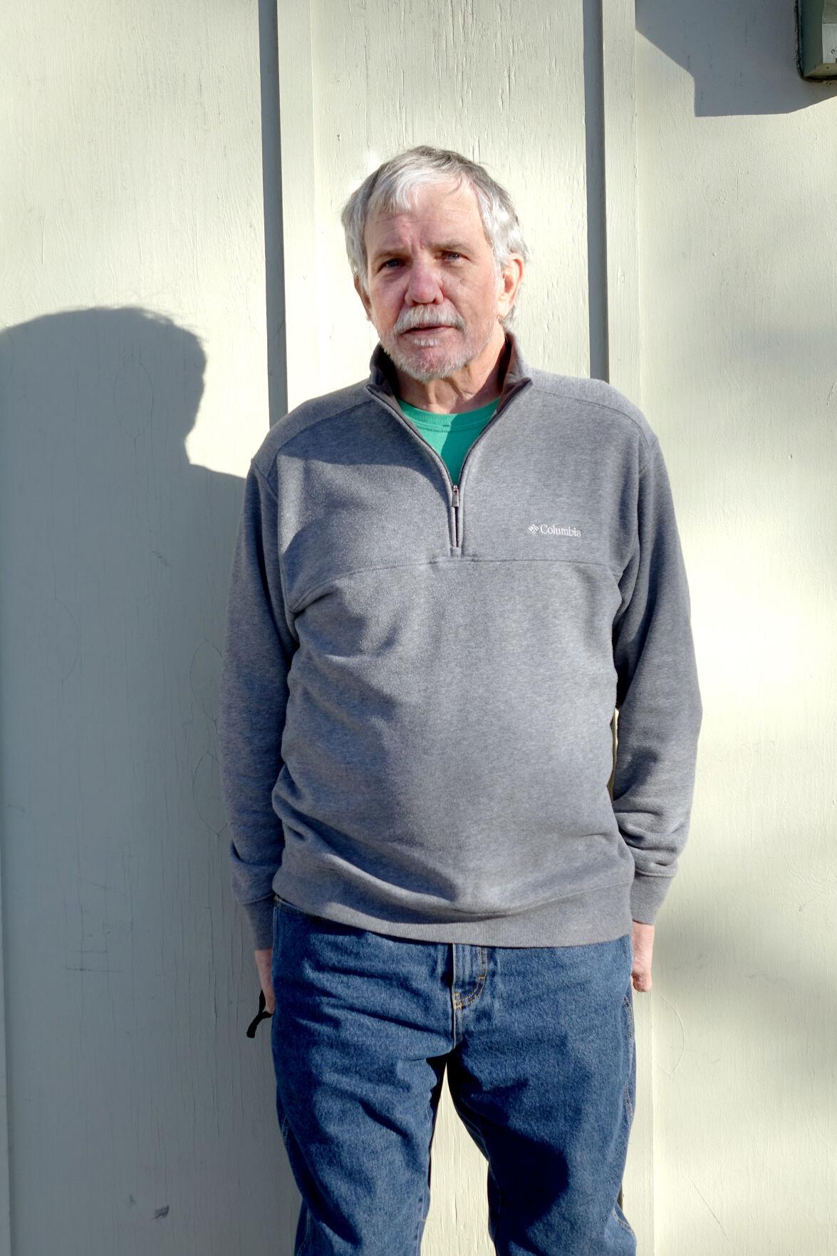 John Brady stands near the Katy Trail in Rocheport