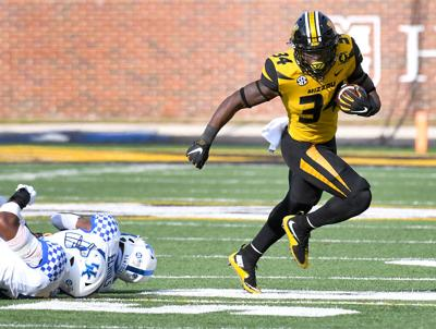 Rountree runs past Kentucky defenders (notebook)