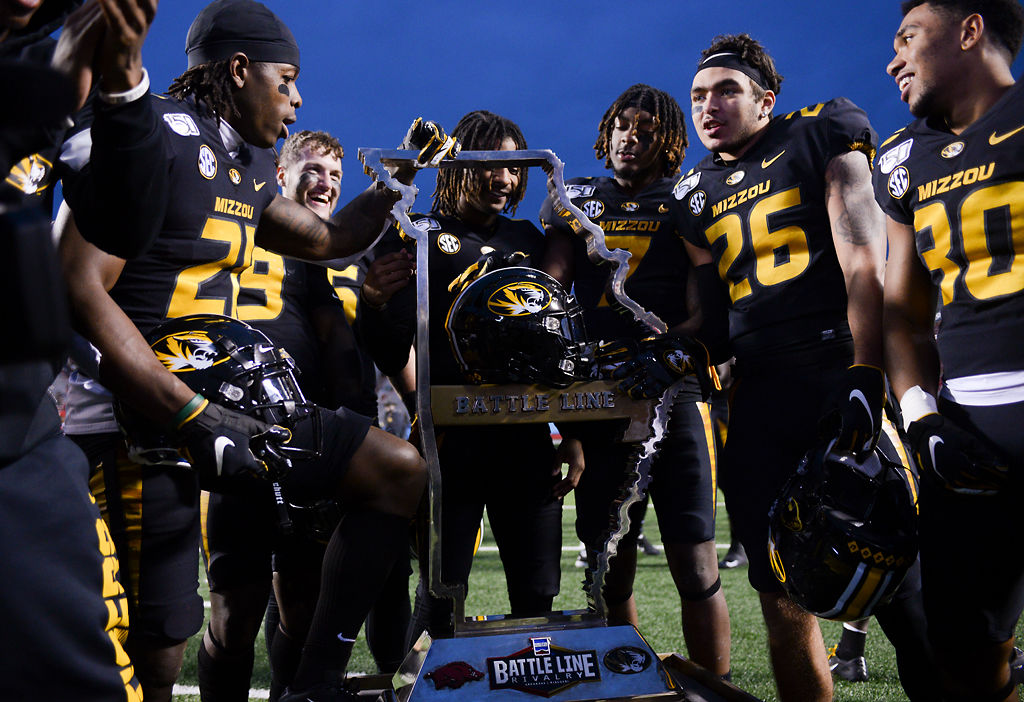 Missouri players celebrate