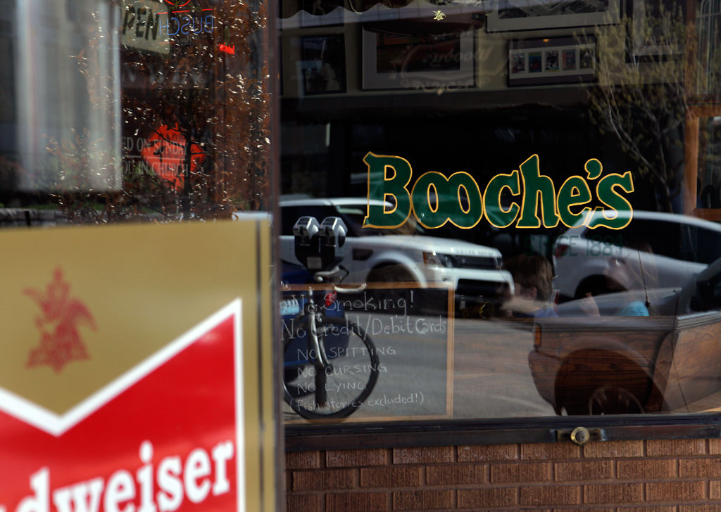 Columbia residents spend time at Booche's Billiards
