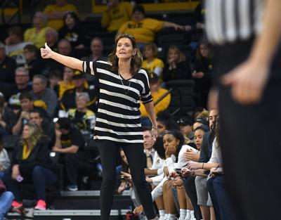 Missouri head coach Robin Pingeton motivates her team during a first round game against Drake University (copy)