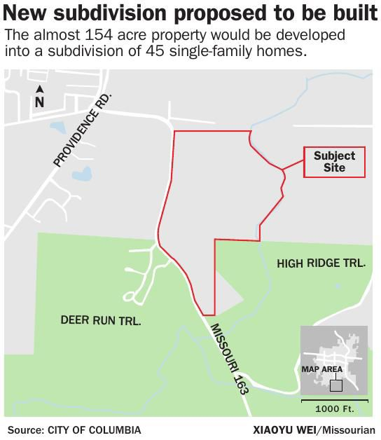 Developer Seeks City Sewer For Development West Of Rock Bridge. Download Pdf New Subdivision Proposed To Be Built. Wiring. Mobile Home Park Sewer Connection Diagram At Scoala.co