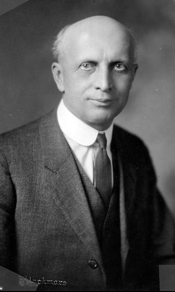 Former MU chemistry department chair Herman Schlundt poses in this undated photograph, taken sometime between 1902 and 1937