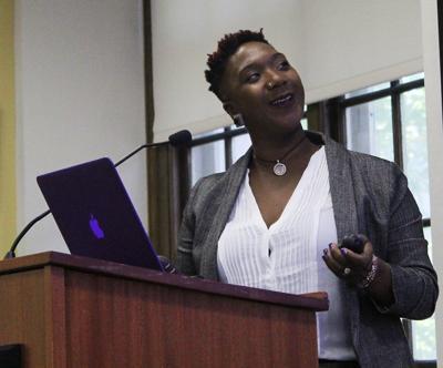 Brittany Kellman speaks on Black maternal health